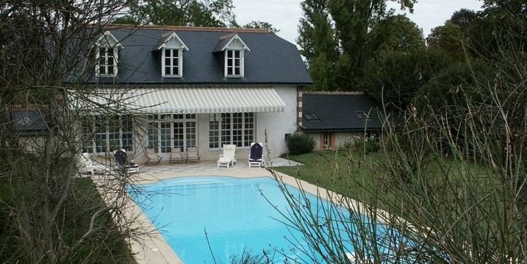 Maison du Jardinier piscine