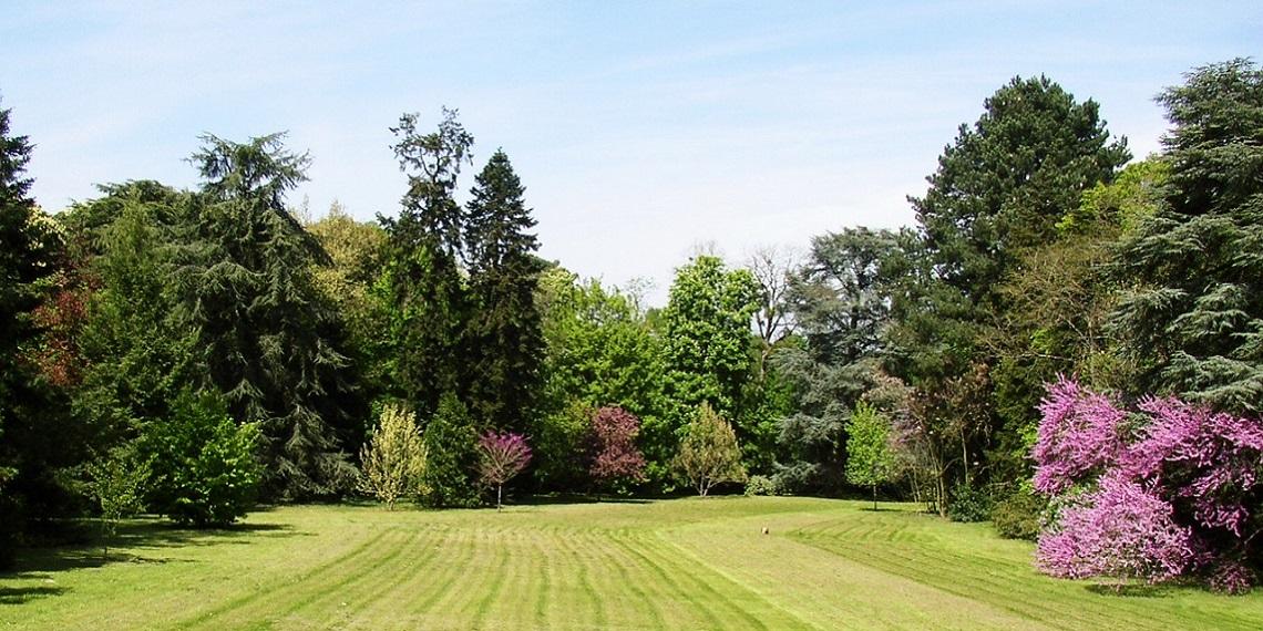 Ch teau du grand bouchet guest and garden for Amenager un parc paysager